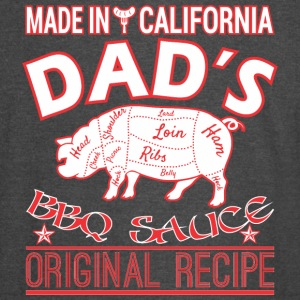 Made In California Dads BBQ Sauce Original Recipe - Vintage Sport T-Shirt