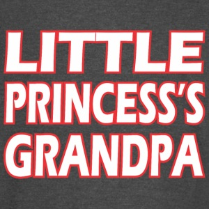 Little Princesss Grandpa - Vintage Sport T-Shirt