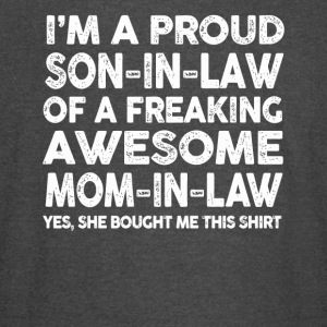 Proud Son In Law Of Awesome Mother In Law TShirt - Vintage Sport T-Shirt