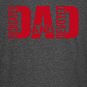 Father's day Dedicated and Devoted DAD Products - Vintage Sport T-Shirt