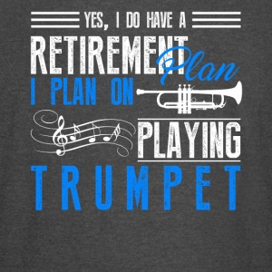 Retirement Plan On Playing Trumpet Shirt - Vintage Sport T-Shirt