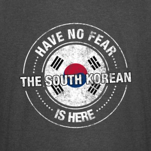 Have No Fear The South Korean Is Here - Vintage Sport T-Shirt