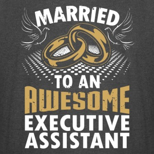 Married To An Awesome Executive Assistant - Vintage Sport T-Shirt
