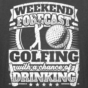 Weekend Forecast Golfing Drinking Tee - Vintage Sport T-Shirt