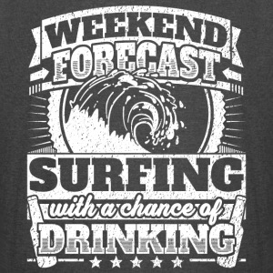 Weekend Forecast Surfing Drinking Tee - Vintage Sport T-Shirt