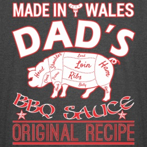 Made In Wales Dads BBQ Sauce Original Recipe - Vintage Sport T-Shirt