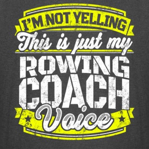 Funny rowing coach shirt: My Rowing Coach Voice - Vintage Sport T-Shirt