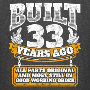 33th birthday gift idea: Built 33 years ago Shirt - Vintage Sport T-Shirt