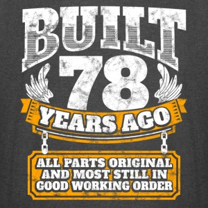 78th birthday gift idea: Built 78 years ago Shirt - Vintage Sport T-Shirt