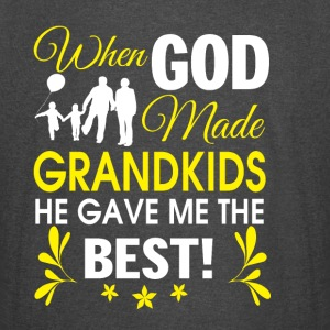 God Made Grandkids He Gave Me The Best T Shirt - Vintage Sport T-Shirt