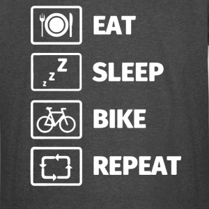 LIFE OF A CYCLIST EAT SLEEP BIKE SHIRT - Vintage Sport T-Shirt