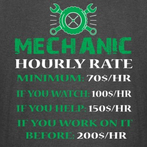 Mechanic Hourly Rate T Shirt - Vintage Sport T-Shirt