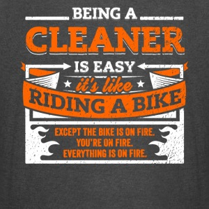 Cleaner Shirt: Being A Cleaner Is Easy - Vintage Sport T-Shirt