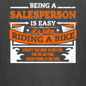 Salesperson Shirt: Being A Salesperson Is Easy - Vintage Sport T-Shirt
