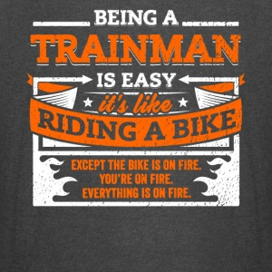 Trainman Shirt: Being A Trainman Is Easy - Vintage Sport T-Shirt