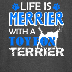 Life Is Better With Toy Fox Terrier Shirt - Vintage Sport T-Shirt