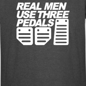 Real Man Use Three Pedals Funny - Vintage Sport T-Shirt
