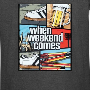 When Weekend Comes - Vintage Sport T-Shirt