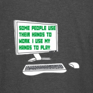 Gamer quote on Computer Screen - Vintage Sport T-Shirt