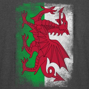 Wales Flag Proud Welsh Vintage Distressed Shirt - Vintage Sport T-Shirt