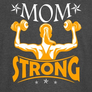 Gym Lover Mom Strong Shirt - Vintage Sport T-Shirt