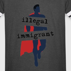 Super-Immigrant - Vintage Sport T-Shirt