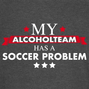 Soccer Alcohol Team - Vintage Sport T-Shirt