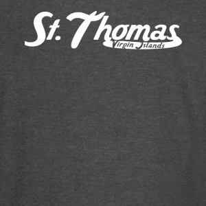 St. Thomas Virgin Islands Vintage Logo - Vintage Sport T-Shirt