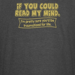 If you could read my mind - Vintage Sport T-Shirt
