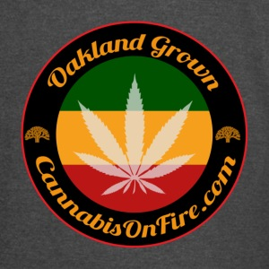 T-shirts Oakland Grown Cannabis 420 wear tshirts - Vintage Sport T-Shirt