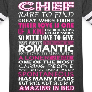 Chef Rare To Find Romantic Amazing To Bed - Vintage Sport T-Shirt