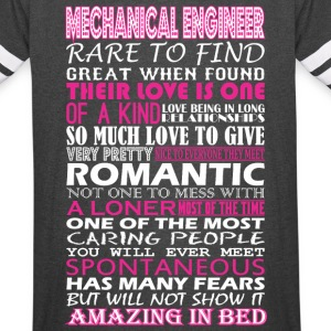 Mechanical Engineer Rare Find Romantic Amazing Bed - Vintage Sport T-Shirt