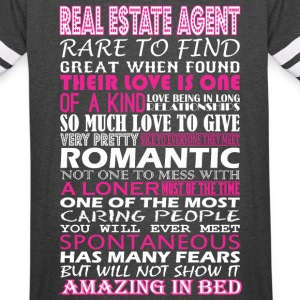Real Estate Agent Rare Find Romantic Amazing Bed - Vintage Sport T-Shirt