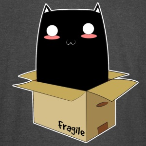 Black Cat in a Box - Vintage Sport T-Shirt