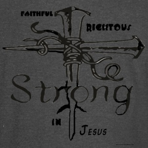I AM strong in christ - Vintage Sport T-Shirt