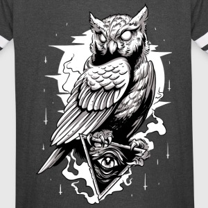 Illumintati Tattoo Night Owl - Vintage Sport T-Shirt