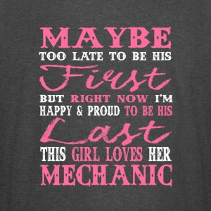 This Girl Loves Her Mechanic T Shirt - Vintage Sport T-Shirt