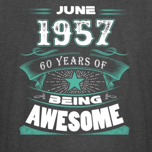 June 1957 - 60 years of being awesome - Vintage Sport T-Shirt