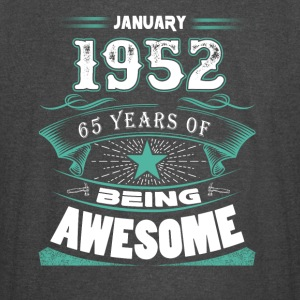 January 1952 - 65 years of being awesome (v.2017) - Vintage Sport T-Shirt