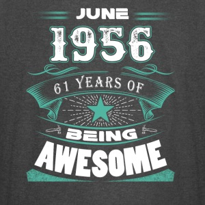 June 1956 - 61 years of being awesome - Vintage Sport T-Shirt