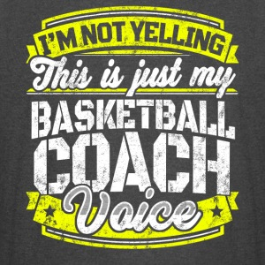 Funny Basketball coach: My Basketball Coach Voice - Vintage Sport T-Shirt