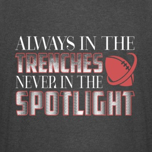 The Trenches Never In The Spotlight T Shirt - Vintage Sport T-Shirt