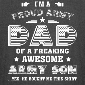 I'm A Proud Army Dad T Shirt - Vintage Sport T-Shirt