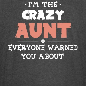 I'm The Crazy Aunt T Shirt - Vintage Sport T-Shirt