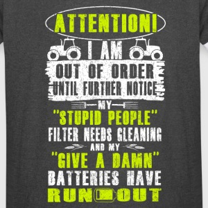 Attention Farmer T Shirts - Vintage Sport T-Shirt
