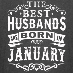 The best husbands are born in January - Vintage Sport T-Shirt