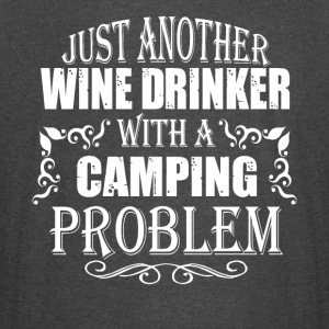 Just Another Wine Drinker With A Camping T Shirt - Vintage Sport T-Shirt
