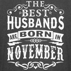The best Husbands are born in November - Vintage Sport T-Shirt