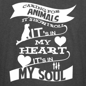 Caring For Animals T Shirt - Vintage Sport T-Shirt