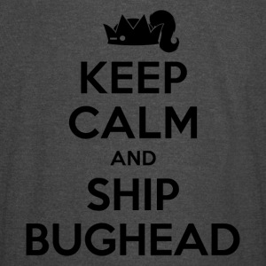 Riverdale - Keep Calm And Ship Bughead - Vintage Sport T-Shirt